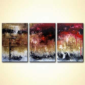 Abstract painting - Dream Scene