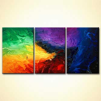 Abstract painting - Accentuate the Positive