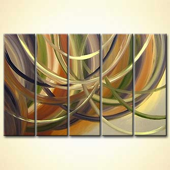 Abstract painting - A Long Lasting Love