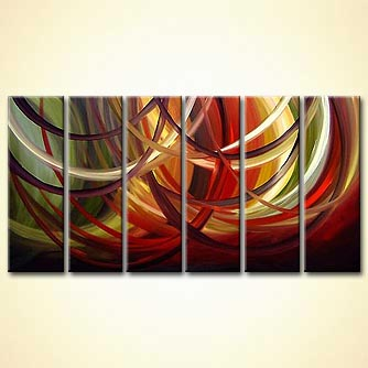 modern abstract art - Force of Attraction