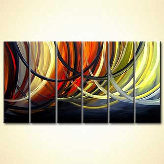 modern abstract art - Wrap Your Arms Around me