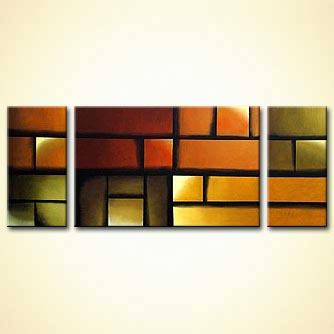 modern abstract art - Here Comes the Sun