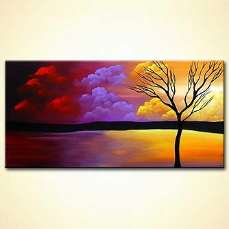 Landscape painting - Three Wishes