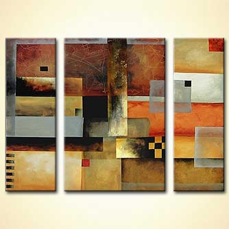 Abstract painting - Abstract Thoughts