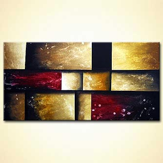 Abstract painting - Frame of Mind
