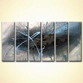 Abstract painting - The Lost Planet