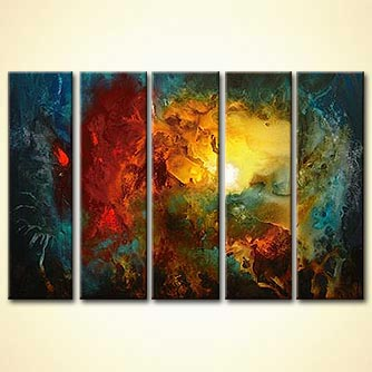 modern abstract art - The Andromeda Voyage