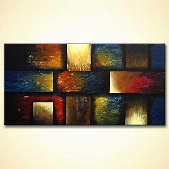 Abstract painting - The Door Below