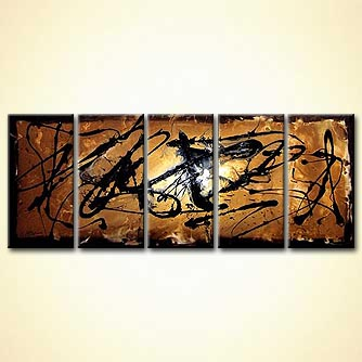 modern abstract art - Prayers to Broken Stones