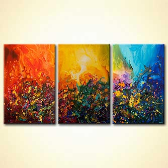 Abstract painting - Love is All Around