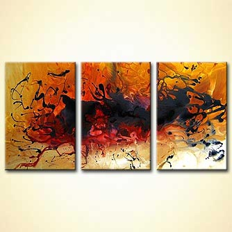 Abstract painting - Emotions