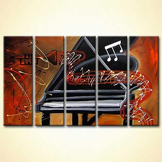 modern abstract art - Enchanted Melody