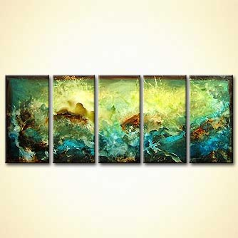 Abstract painting - Tide