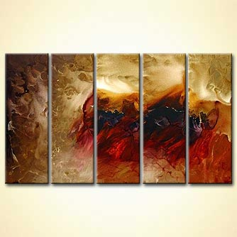Abstract painting - Dune