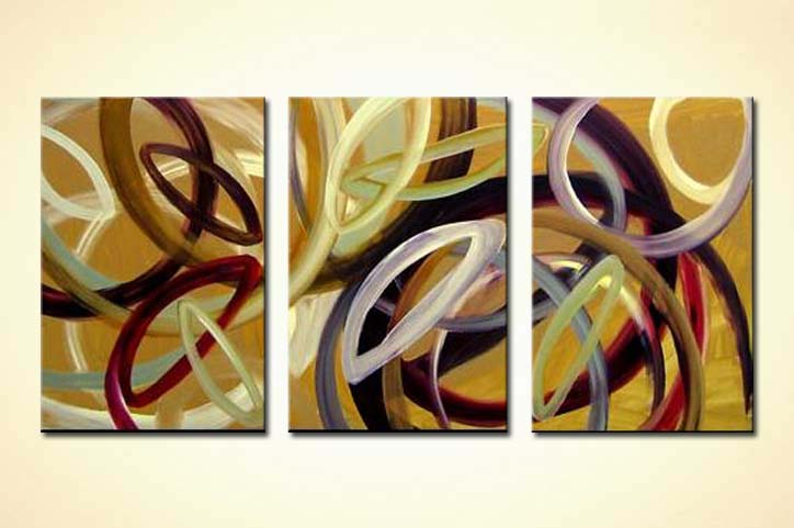 modern abstract art - Running Around in Circles