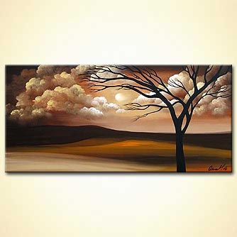 Landscape painting - White Nights