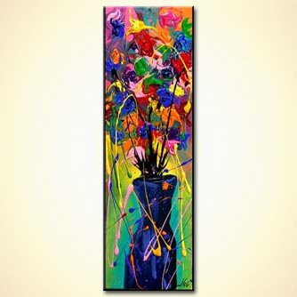 Floral painting - Display of Affection