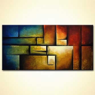 modern abstract art - The Secret