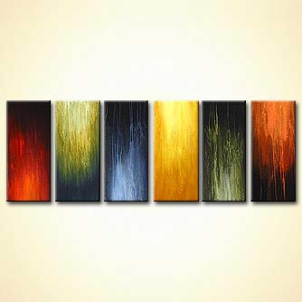 Abstract painting - Glory Days