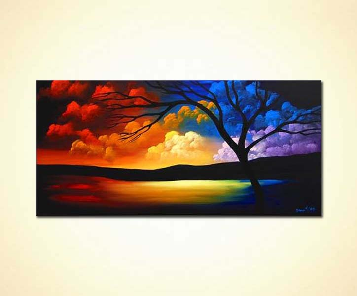 Painting Sunrise Painting 3098