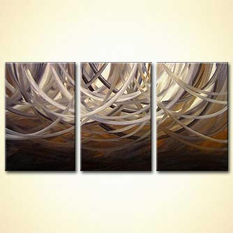 modern abstract art - Vanilla Sky