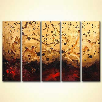 modern abstract art - Beyond the Burning Lands