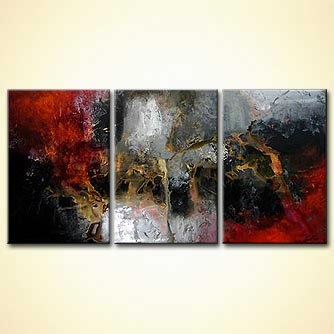 Abstract painting - Last Contact