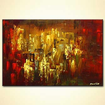 modern abstract art - The Lost City