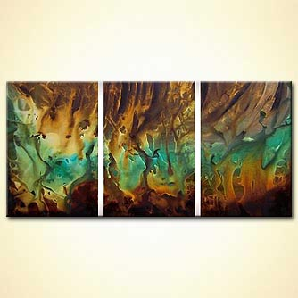 Abstract painting - Caves of Steel