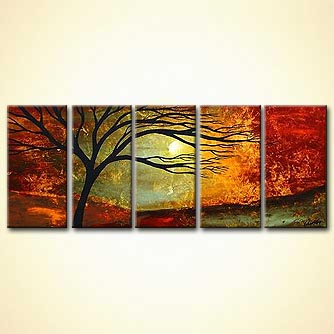 Landscape painting - When You Love Someone