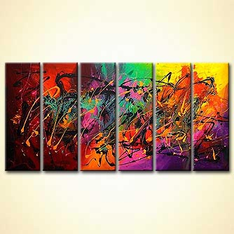 Abstract painting - Fantasia