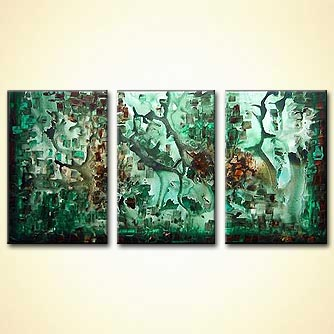 Abstract painting - The Lost City