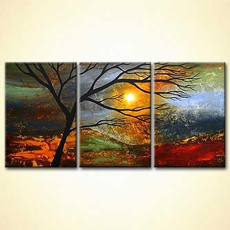Landscape painting - Love - I See it in Your Eyes