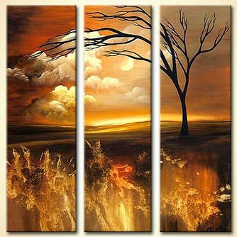 Landscape painting - Made in Heaven