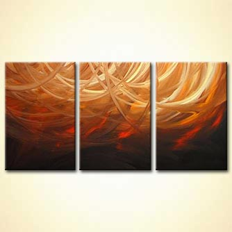 Abstract painting - Waves of the Future