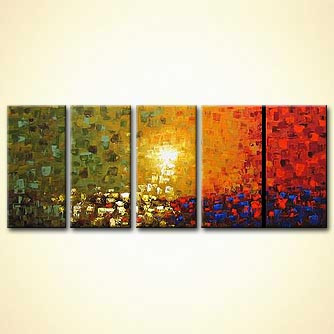 modern abstract art - Heaven by Your Side
