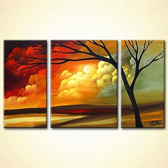 Landscape painting - Love a Higher Love
