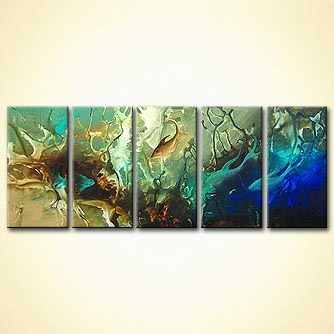 Seascape painting - The Underworld