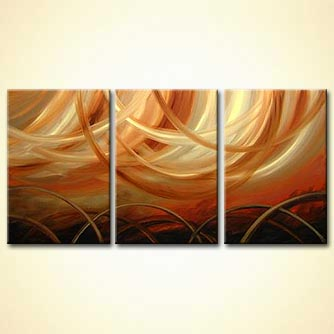 modern abstract art - Waves of the Future