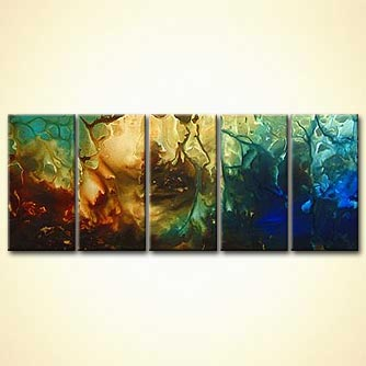 Abstract painting - The Underworld