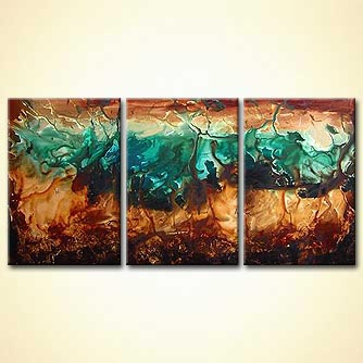 modern abstract art - The Wooden Sea