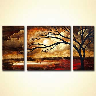 Landscape painting - For the Love of You