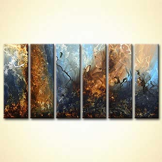 modern abstract art - Hyperion