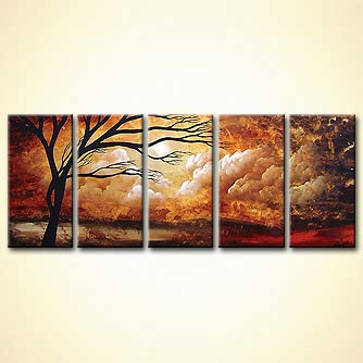 Landscape painting - Show me the Way