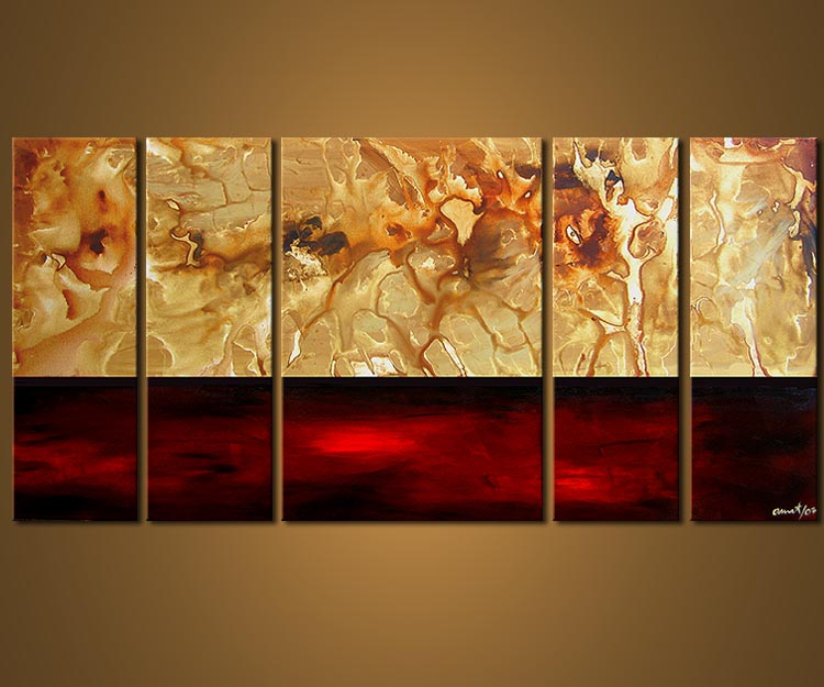 Painting For Sale Multi Panel Wall Decor 3496