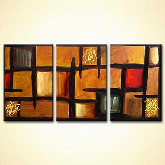 modern abstract art - The da Vinci Code