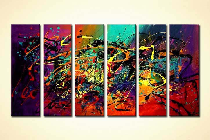 Painting For Sale Abstract Splash Art 3516