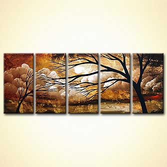 Landscape painting - Love me Closer