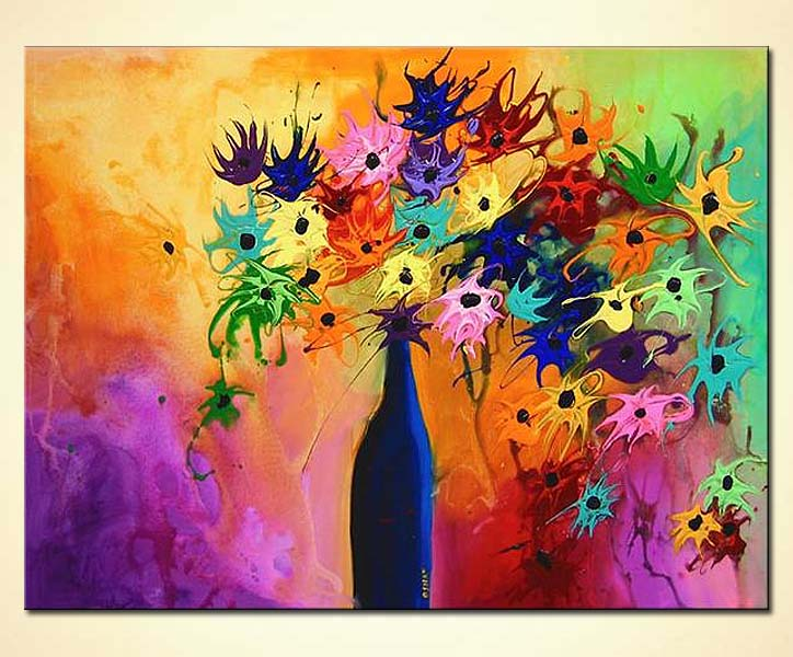 Buy Abstract Vase Painting 3568