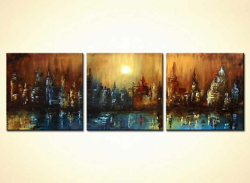 Stretched Canvas Paintings For Sale